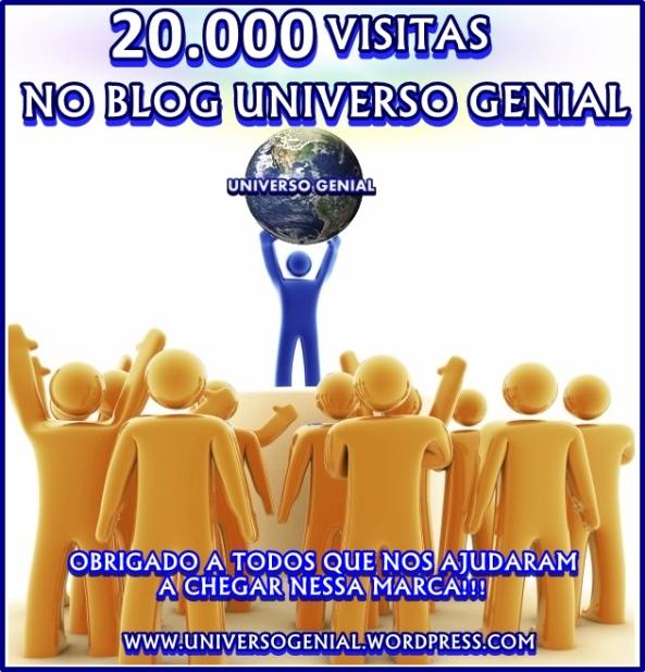 20 mil visitas