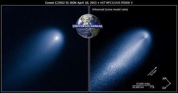 Hubble-Cometa-ISON