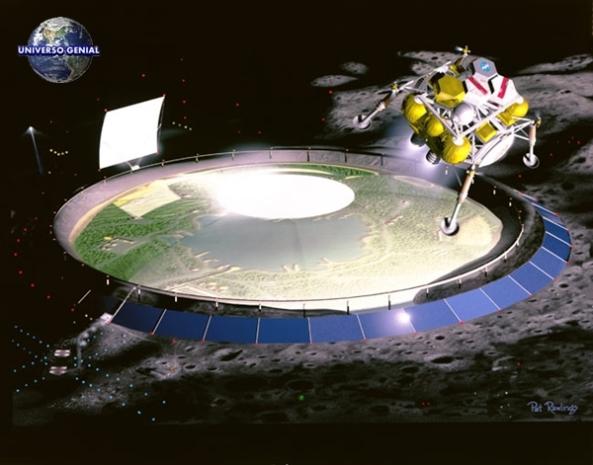 Mineracao na lua discovery