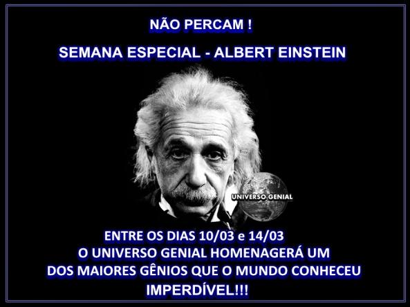 Especial Albert Einstein
