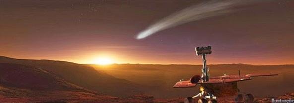 exploração em Marte