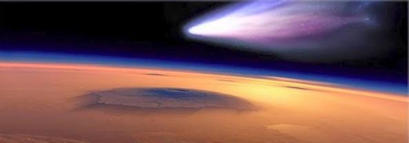 encontro de cometa com Marte